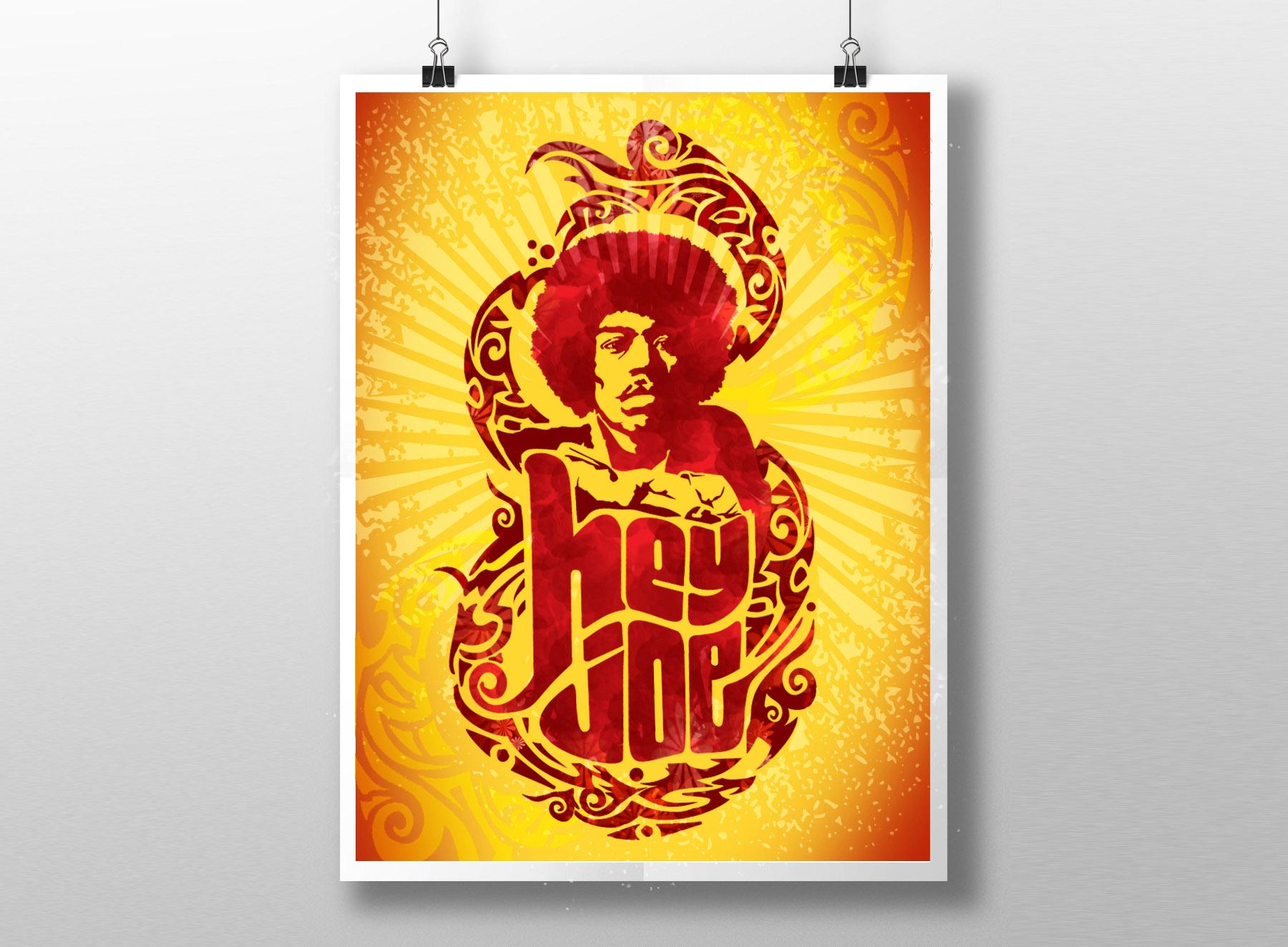 Afiche Hendrix